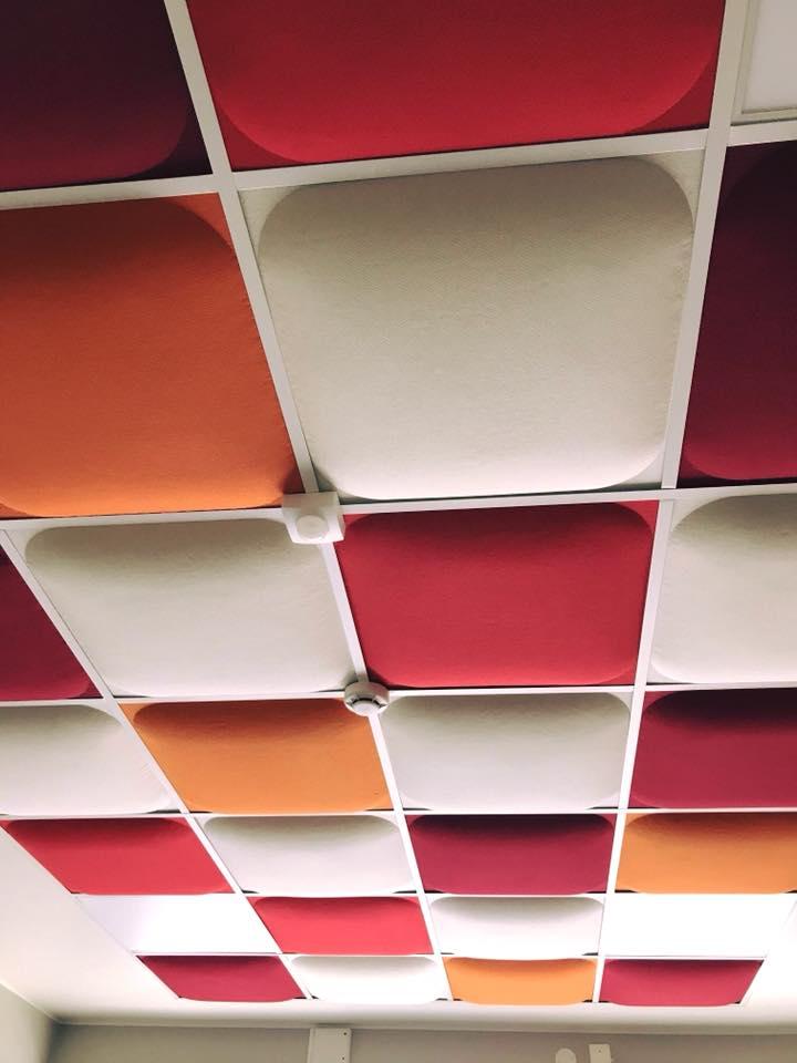 Färg på innertak